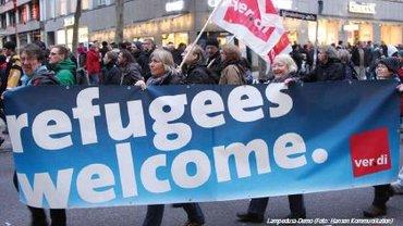 Flüchtlinge - Demo