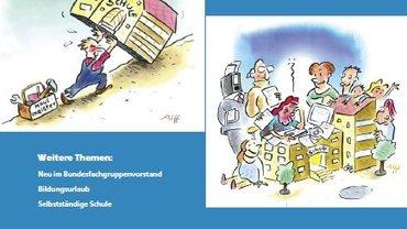 Karikaturen zu Gute Arbeit