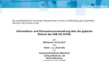 Informations- und Diskussionsveranstaltung