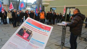 Kundgebung in Passau