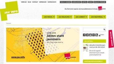 Website ver.di-Jugend