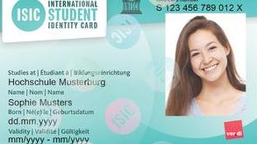 ISIC - Internationaler Studentenausweis